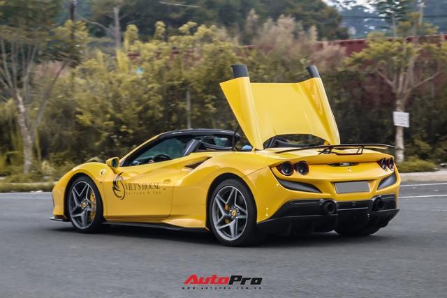 Ferrari F8 Spider của nữ doanh nhân cà phê 9x nâng cấp hàng loạt đồ chơi hàng hiệu - Ảnh 7.