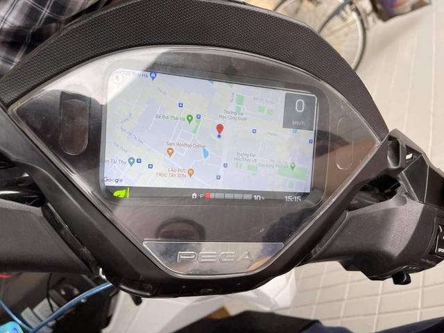 Xe máy điện sạc đầy pin tốn 3.000 đồng, đi được 120km, sắp có thêm cả bản đồ tìm đường? - Ảnh 1.