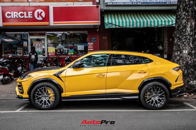 Lamborghini Urus khó bắt gặp nhất Việt Nam lộ diện trên phố Sài Gòn, bộ mâm mới là điểm nhấn - Ảnh 2.