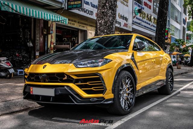Lamborghini Urus khó bắt gặp nhất Việt Nam lộ diện trên phố Sài Gòn, bộ mâm mới là điểm nhấn - Ảnh 8.