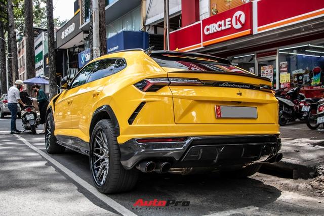 Lamborghini Urus khó bắt gặp nhất Việt Nam lộ diện trên phố Sài Gòn, bộ mâm mới là điểm nhấn - Ảnh 5.