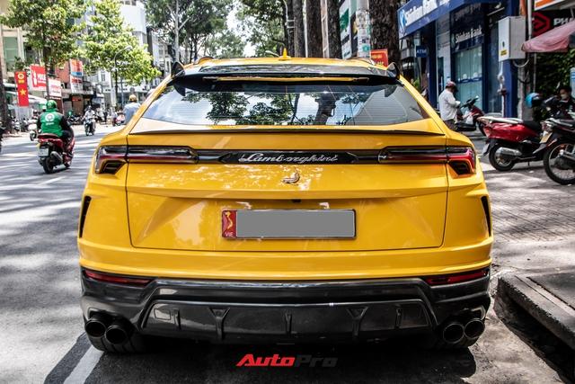 Lamborghini Urus khó bắt gặp nhất Việt Nam lộ diện trên phố Sài Gòn, bộ mâm mới là điểm nhấn - Ảnh 7.
