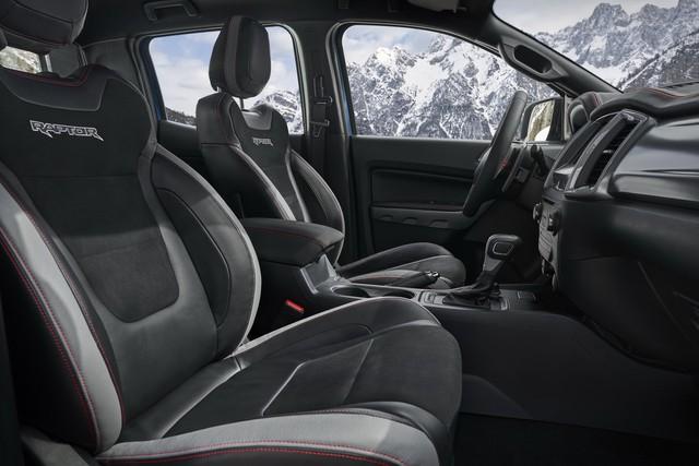 Ford Ranger Raptor 2021 bổ sung phiên bản đặc biệt với điểm nhấn từ nội thất - Ảnh 6.