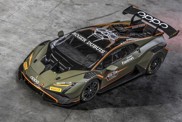 Ra mắt Lamborghini Huracan Super Trofeo EVO2: Thiết kế lột xác, có bán rời bodykit cho chủ xe EVO cũ nâng cấp - Ảnh 1.
