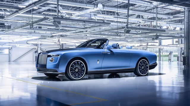 Xe đắt nhất thế giới Rolls-Royce Boat Tail: Giá quy đổi 670 tỷ, nếu về nước có thể lên tới 2.000 tỷ đồng