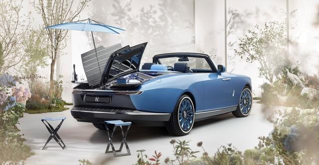 Xe đắt nhất thế giới Rolls-Royce Boat Tail: Giá quy đổi 670 tỷ, nếu về nước có thể lên tới 2.000 tỷ đồng - Ảnh 9.