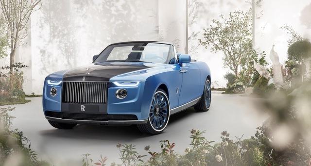 Xe đắt nhất thế giới Rolls-Royce Boat Tail: Giá quy đổi 670 tỷ, nếu về nước có thể lên tới 2.000 tỷ đồng - Ảnh 3.