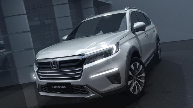Ra mắt Honda N7X - Bản xem trước của Honda BR-V 7 chỗ mới được người Việt mong chờ