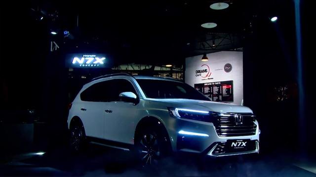 Ra mắt Honda N7X - Bản xem trước của Honda BR-V 7 chỗ mới được người Việt mong chờ - Ảnh 1.
