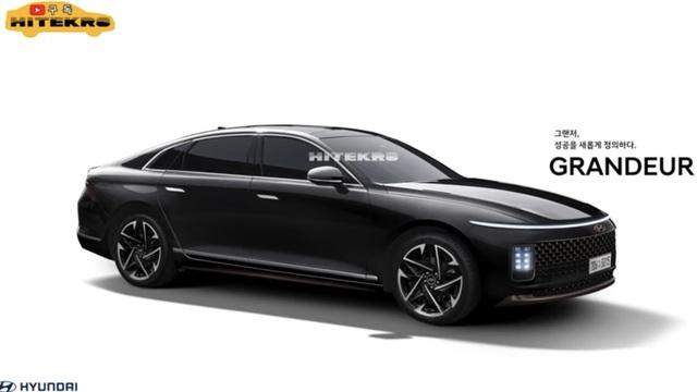 Xem trước Hyundai Grandeur đời mới: Xe Hàn thực sự ngày càng đẹp
