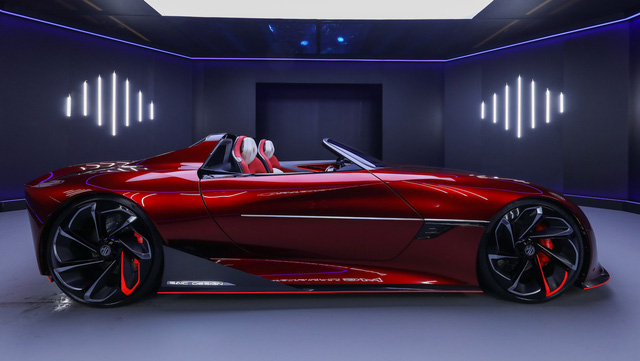 MG đưa siêu xe Cyberster vào sản xuất, kêu gọi khách hàng hỗ trợ - Ảnh 2.