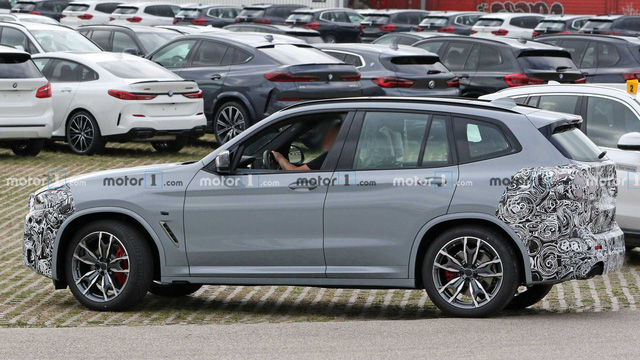 BMW X3 2021 bất ngờ lộ diện, Mercedes-Benz GLC cần dè chừng - Ảnh 2.