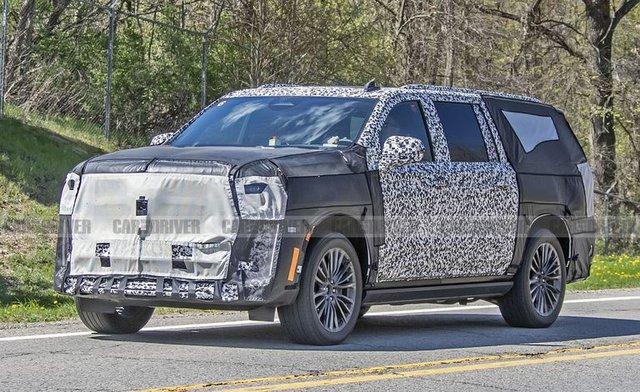 Cadillac Escalade sắp có phiên bản hiệu suất cao đàn áp Mercedes-AMG GLS - Ảnh 2.