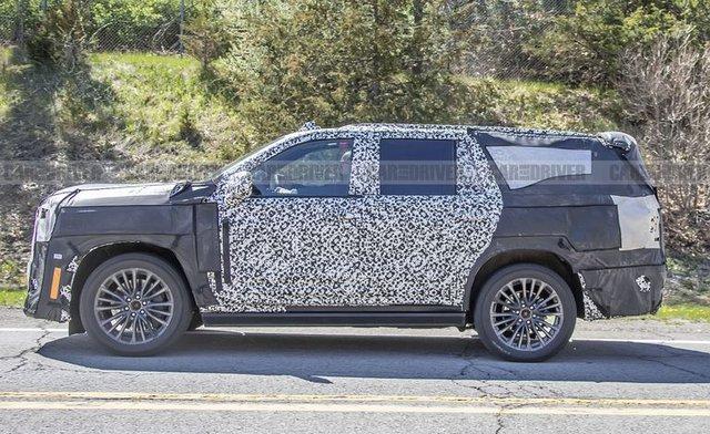 Cadillac Escalade sắp có phiên bản hiệu suất cao đàn áp Mercedes-AMG GLS - Ảnh 3.