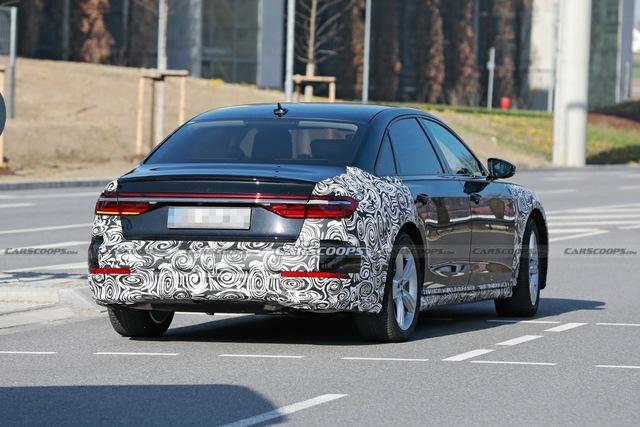 Audi A8 2022 dần lộ diện - Sẵn sàng đối đầu BMW 7-Series và Mercedes S-Class - Ảnh 2.