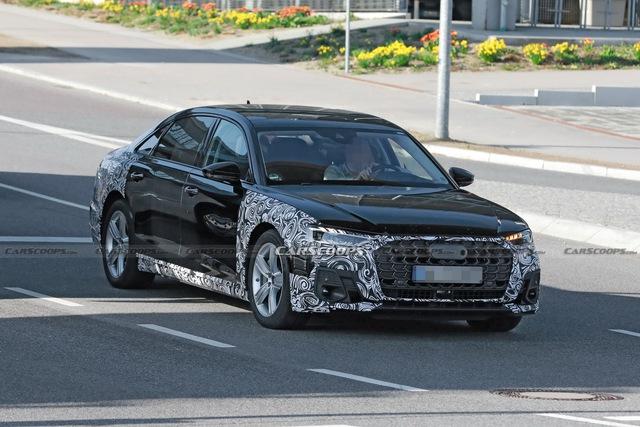 Audi A8 2022 dần lộ diện - Sẵn sàng đối đầu BMW 7-Series và Mercedes S-Class - Ảnh 1.