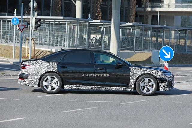 Audi A8 2022 dần lộ diện - Sẵn sàng đối đầu BMW 7-Series và Mercedes S-Class - Ảnh 3.