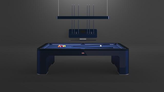 Bugatti sản xuất bàn bi-a bằng sợi carbon, giá ngang ngửa căn biệt thự - Ảnh 1.