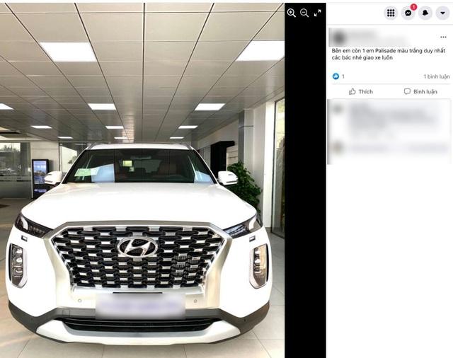 Hyundai Palisade liên tục được bán tại đại lý, tới tay khách Việt với giá đồn đoán 2,5 tỷ đồng - Ảnh 1.