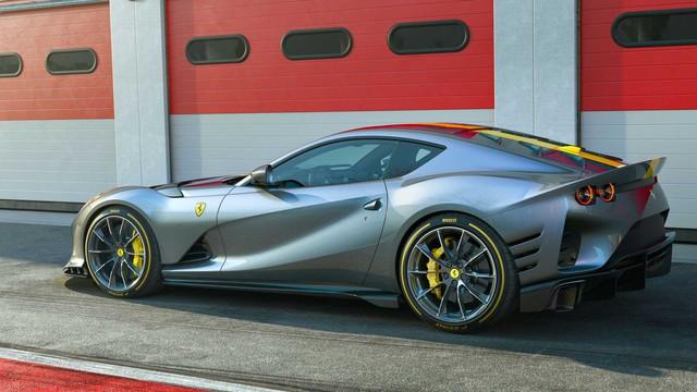 Ra mắt Ferrari 812 Competizione và Competizione A: Mạnh hơn, thêm kiểu dáng targa sành điệu - Ảnh 2.
