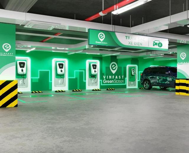 Trạm sạc VinFast sẽ chỉ phục vụ ô tô điện VinFast - Ảnh 2.