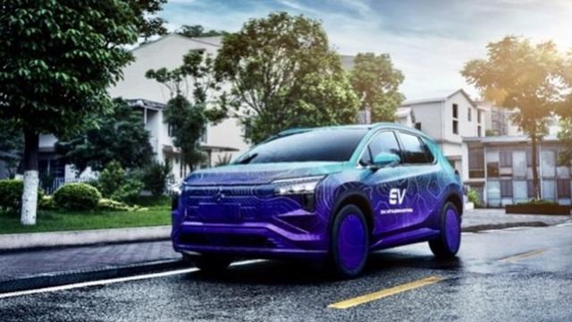 Lộ diện Mitsubishi Airtrek - SUV mới tương đồng Outlander, sẽ full option kiểu xe Trung Quốc?