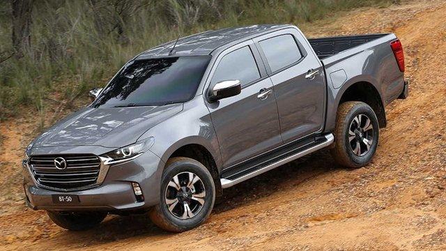 Mazda BT-50 2021 nhận cọc tại đại lý: Giá dự kiến từ 659 triệu, đầu như CX-8, động cơ mới, đáp trả Ford Ranger - Ảnh 8.