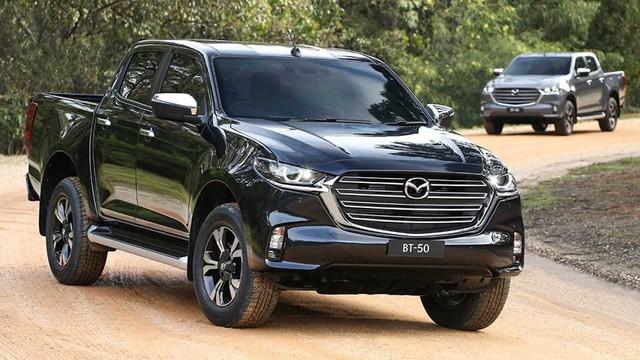 Mazda BT-50 2021 nhận cọc tại đại lý: Giá dự kiến từ 659 triệu, đầu như CX-8, động cơ mới, đáp trả Ford Ranger - Ảnh 1.