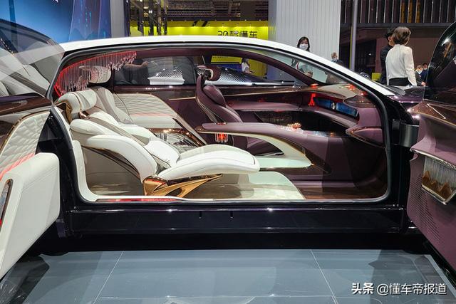 Ô tô Trung Quốc lắp hẳn đèn chùm như khách sạn 5 sao, quyết vượt mặt Rolls-Royce có bầu trời sao - Ảnh 3.