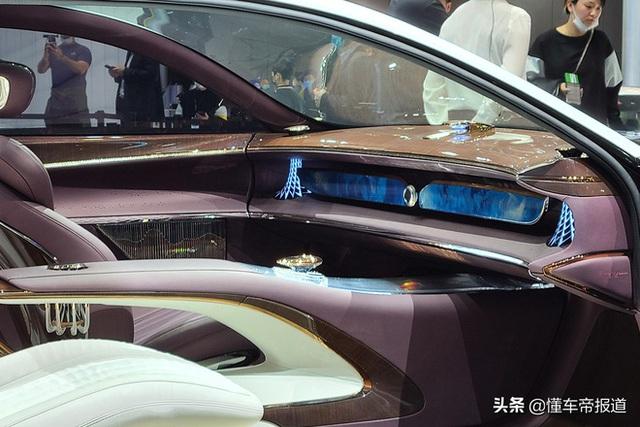 Ô tô Trung Quốc lắp hẳn đèn chùm như khách sạn 5 sao, quyết vượt mặt Rolls-Royce có bầu trời sao - Ảnh 5.