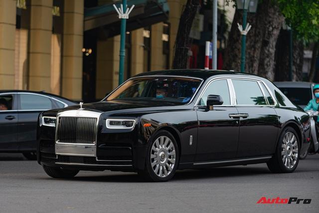 Rolls-Royce Phantom VIII đồn đoán của đại gia Ninh Bình xuất hiện trong tình trạng mới kính coong sau một thời gian âm thầm về nước - Ảnh 1.