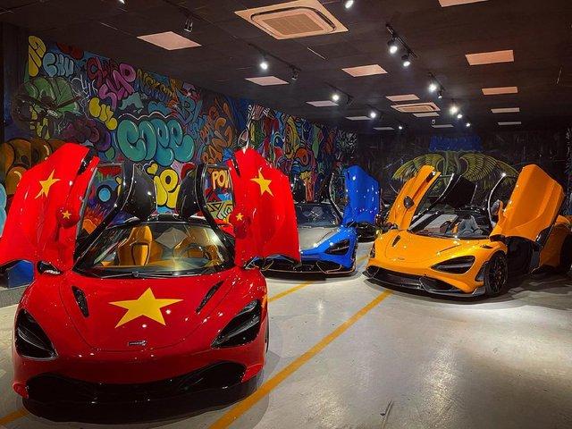Đại lý siêu xe Sài Gòn trưng bày dàn McLaren cả 100 tỷ cổ vũ đội tuyển Việt Nam - Ảnh 2.
