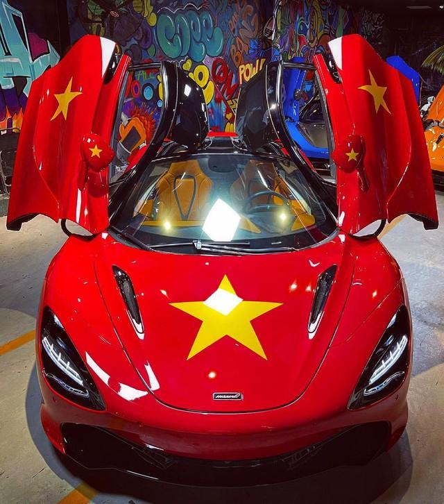 Đại lý siêu xe Sài Gòn trưng bày dàn McLaren cả 100 tỷ cổ vũ đội tuyển Việt Nam - Ảnh 3.