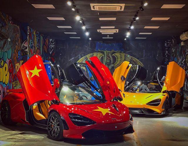 Đại lý siêu xe Sài Gòn trưng bày dàn McLaren cả 100 tỷ cổ vũ đội tuyển Việt Nam - Ảnh 4.