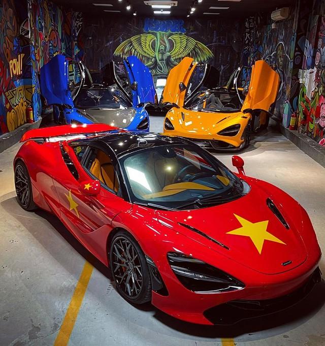 Đại lý siêu xe Sài Gòn trưng bày dàn McLaren cả 100 tỷ cổ vũ đội tuyển Việt Nam - Ảnh 5.