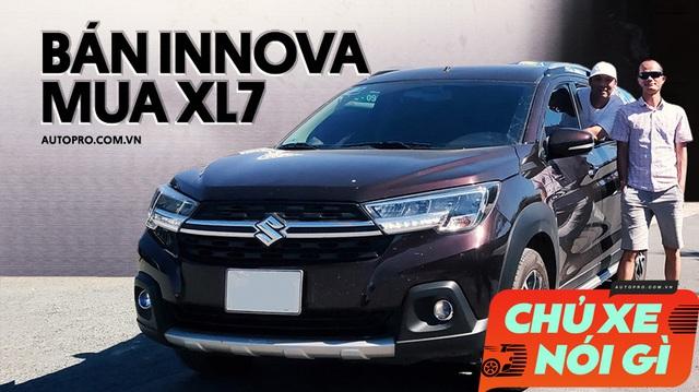 Đổi từ Toyota Innova sang Suzuki XL7, người dùng đánh giá: 'Vận hành kém, còn mọi thứ khác đều ăn đứt, tiết kiệm vài trăm triệu'