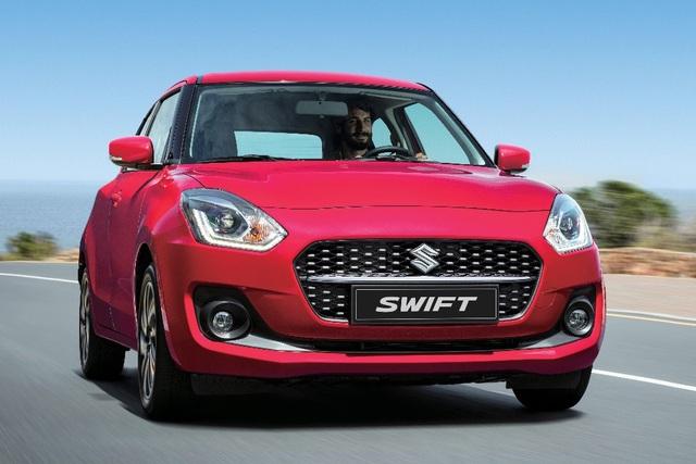 Suzuki Swift 2021 chốt giá gần 550 triệu đồng tại Việt Nam: Ngoại hình mới, màn hình lớn nhất phân khúc - Ảnh 1.