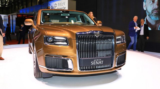 'Rolls-Royce của Nga' bắt đầu sản xuất, giá quy đổi từ hơn 5,6 tỷ đồng