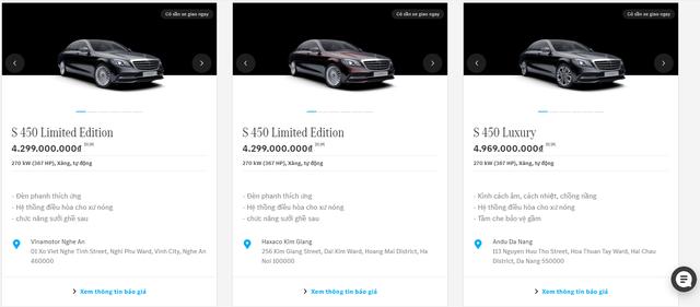 Mercedes-Benz bán hàng trăm xe sang online tại Việt Nam - Ảnh 3.