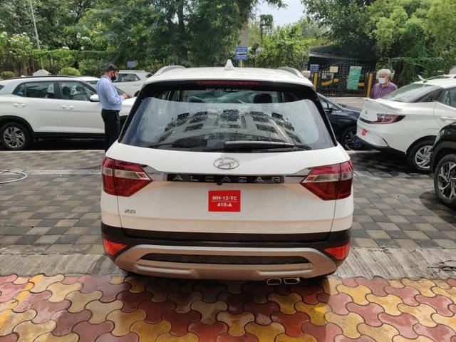 Chi tiết Hyundai Alcazar vừa về đại lý: Như Palisade thu nhỏ, giá quy đổi từ 505 triệu đồng, đối thủ ngang tầm Toyota Innova - Ảnh 4.