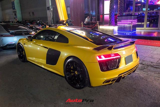 Đổi chủ, Audi R8 V10 Plus cũ của doanh nhân Nguyễn Quốc Cường tái xuất với diện mạo mới - Ảnh 2.
