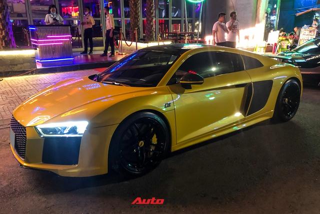 Đổi chủ, Audi R8 V10 Plus cũ của doanh nhân Nguyễn Quốc Cường tái xuất với diện mạo mới - Ảnh 1.