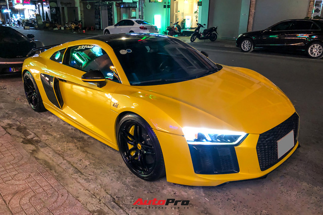 Đổi chủ, Audi R8 V10 Plus cũ của doanh nhân Nguyễn Quốc Cường tái xuất với diện mạo mới - Ảnh 3.