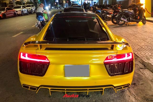 Đổi chủ, Audi R8 V10 Plus cũ của doanh nhân Nguyễn Quốc Cường tái xuất với diện mạo mới - Ảnh 5.