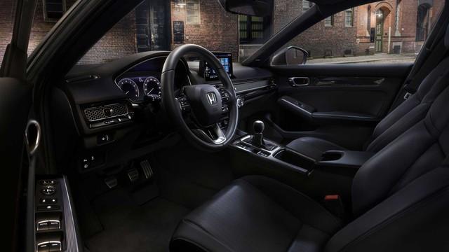 Ra mắt Honda Civic 2022 hatchback: Dáng coupe điệu hơn Mazda3, dễ khiến khách Việt mở lòng với xe đuôi cộc - Ảnh 4.