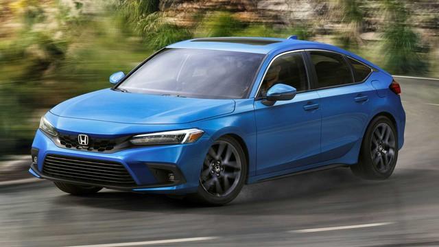Ra mắt Honda Civic 2022 hatchback: Dáng coupe điệu hơn Mazda3, dễ khiến khách Việt mở lòng với xe đuôi cộc - Ảnh 1.