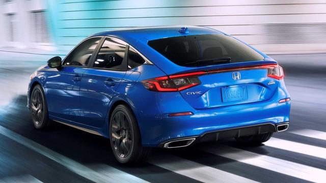 Hé lộ 3 phiên bản Honda Civic 2022 sắp ra mắt: 1 bản siêu tiết kiệm xăng, 2 bản cho dân mê tốc độ - Ảnh 1.