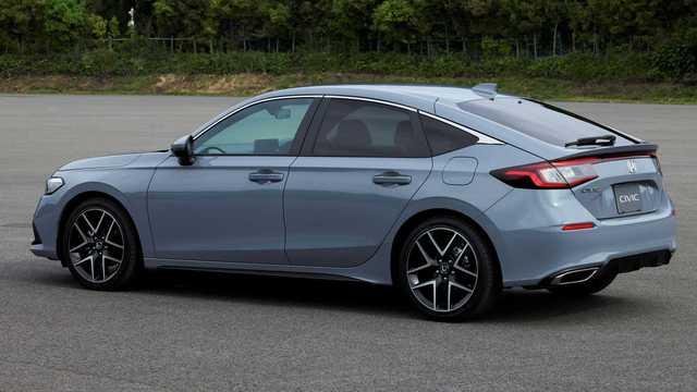 Ra mắt Honda Civic 2022 hatchback: Dáng coupe điệu hơn Mazda3, dễ khiến khách Việt mở lòng với xe đuôi cộc - Ảnh 2.