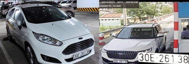 Không ra khỏi Hà Nội, xe vẫn bị phạt nguội tại Quảng Nam và Nghệ An, nghi vấn có xe dùng biển giả? - Ảnh 1.
