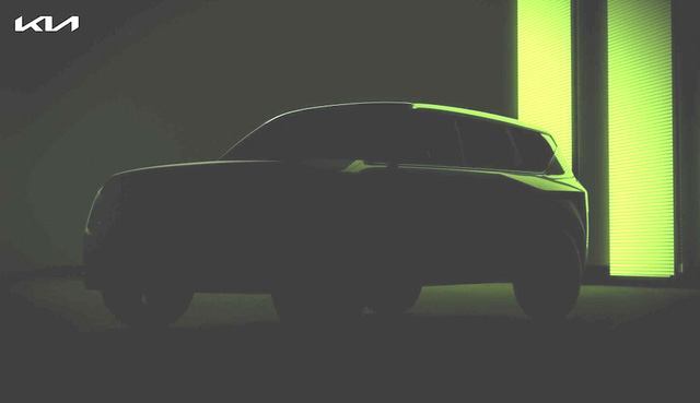 SUV mới toanh của Kia lộ diện, kích thước lớn gần ngang anh cả Telluride - Ảnh 2.